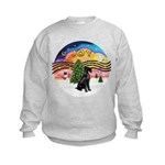 XMusic2-Giant Schnauzer Kids Sweatshirt