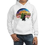 XMusic2-Giant Schnauzer Hooded Sweatshirt