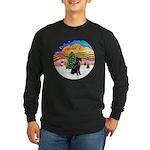 XMusic2-Giant Schnauzer Long Sleeve Dark T-Shirt