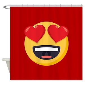 Emoji One Shower Curtains