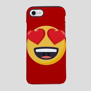 Heart Eyes Emoji iPhone 7 Tough Case