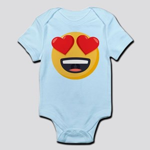 Heart Eyes Emoji Infant Bodysuit