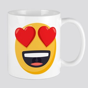 Heart Eyes Emoji 11 oz Ceramic Mug