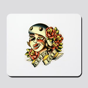 Derby Doll Mousepad