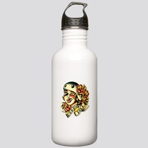 Derby Doll Stainless Water Bottle 1.0L