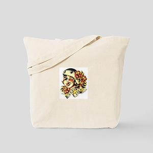 Derby Doll Tote Bag