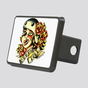 Derby Doll Rectangular Hitch Cover