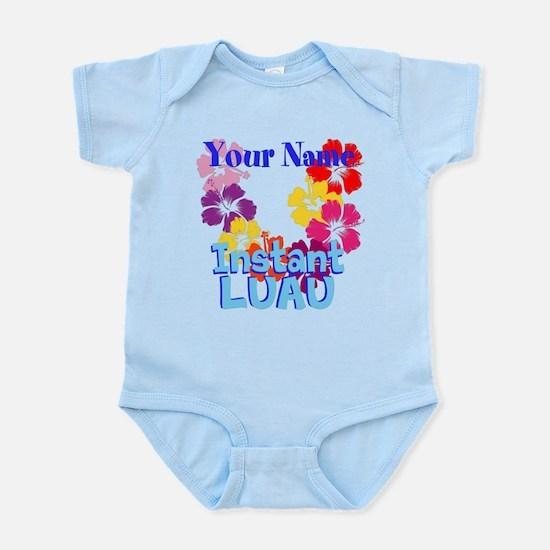 Custom Luau Infant Bodysuit