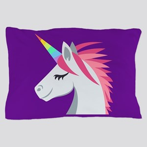 Unicorn Emoji Pillow Case