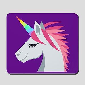Unicorn Emoji Mousepad