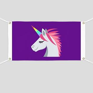 Unicorn Emoji Banner