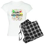 Happy Anniversary (B) Women's Light Pajamas