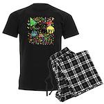Happy Anniversary (B) Men's Dark Pajamas