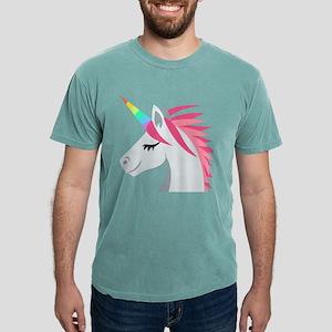 Unicorn Emoji Mens Comfort Colors Shirt