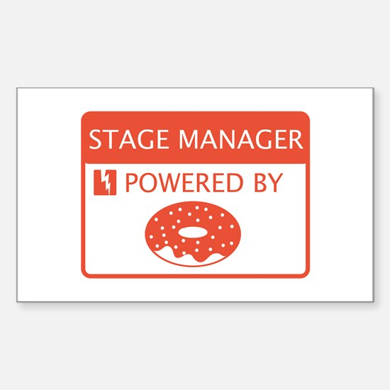 Stage Manager Powered by Doughnuts Decal