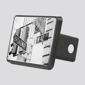 NY Broadway Times Square - Rectangular Hitch Cover