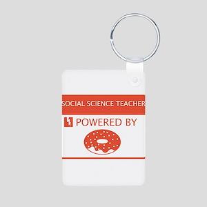 Social Science Teacher Powered by Doughnuts Alumin