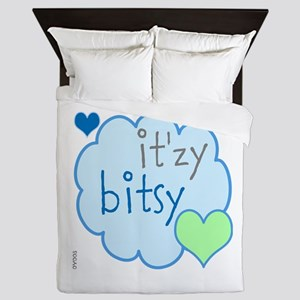 OYOOS Itzy Bitsy Cloud Heart design Queen Duvet