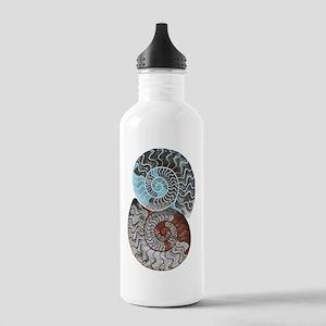 ammonite ying and yang shirt Stainless Water B
