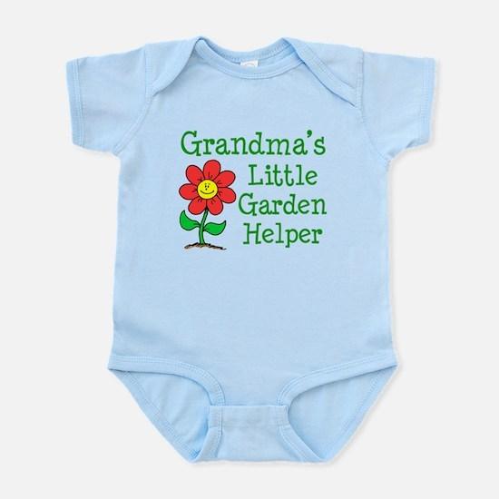 Grandmas Little Garden Helper Infant Bodysuit