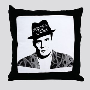 Scungilli Joe Throw Pillow