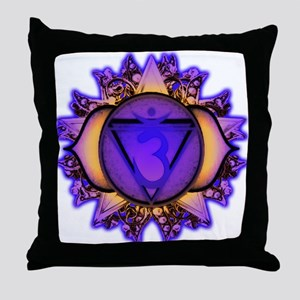 Ajna Chakra Throw Pillow