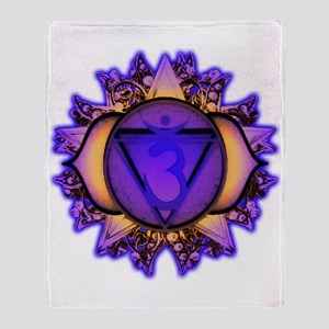 Ajna Chakra Throw Blanket