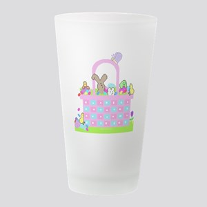 Happy Easterbasket! Frosted Drinking Glass