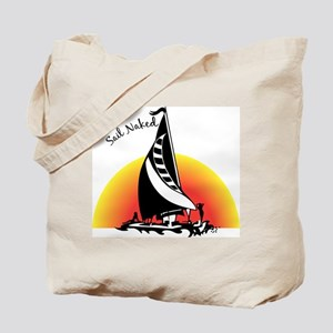 Sail Naked Tote Bag
