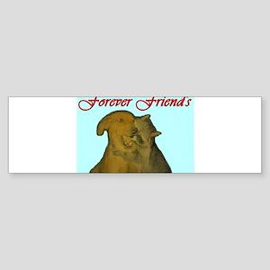 Forever Friends Sticker (Bumper)
