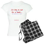 Eat You Women's Light Pajamas