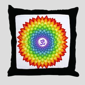 Toward Enlightenment Throw Pillow