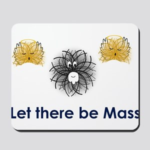 God particle Mousepad