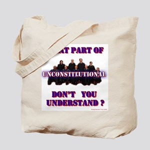 UnConstitutional Supremes Tote Bag