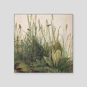 Albrecht Durer Great Piece Of Turf Square Sticker