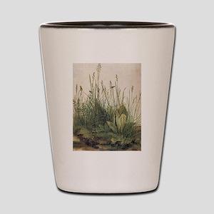 Albrecht Durer Great Piece Of Turf Shot Glass
