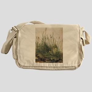 Albrecht Durer Great Piece Of Turf Messenger Bag