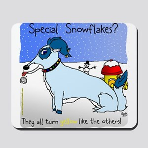 Special Snowflakes Mousepad