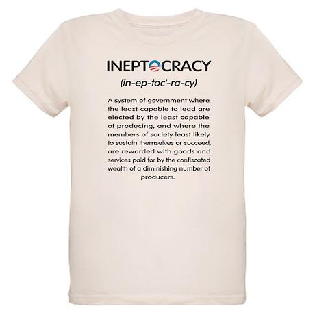 Ineptocracy Organic Kids T-Shirt