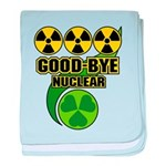Good-bye Nuclear baby blanket