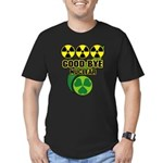 Good-bye Nuclear Men's Fitted T-Shirt (dark)