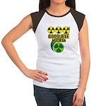 Good-bye Nuclear Women's Cap Sleeve T-Shirt