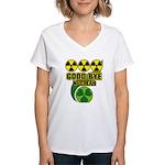 Good-bye Nuclear Women's V-Neck T-Shirt