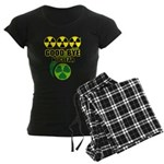Good-bye Nuclear Women's Dark Pajamas