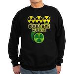 Good-bye Nuclear Sweatshirt (dark)
