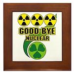 Good-bye Nuclear Framed Tile