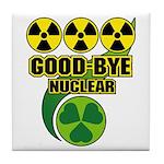 Good-bye Nuclear Tile Coaster