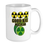 Good-bye Nuclear Large Mug