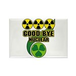 Good-bye Nuclear Rectangle Magnet (10 pack)
