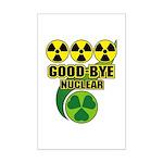 Good-bye Nuclear Mini Poster Print